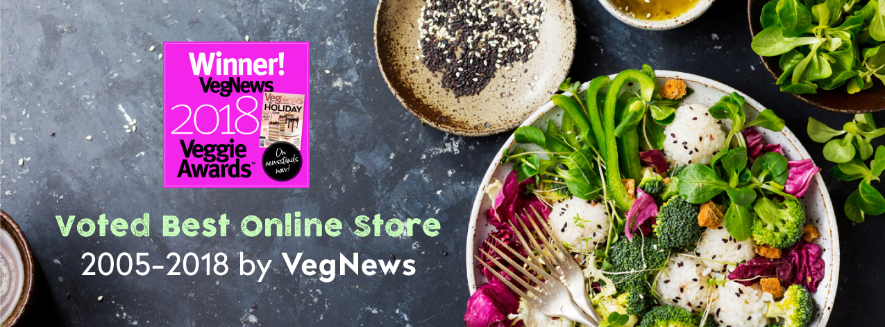 Vegan Essentials Veggie News Award Winner